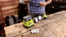 About Ryobi One+ 18V String Lights