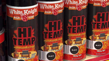 About White Knight High Temp 300g Black Spray Paint