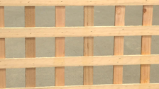 About Lattice Makers 2400 x 900mm x 65mm Treated Pine Trellis