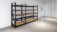 About Rack It 1000kg 2135 x 640mm Black Upright
