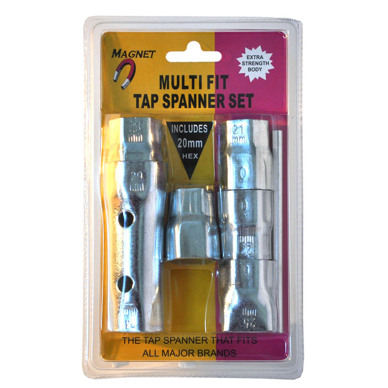 Magnet Multi Fit Tap Spanner Set | Bunnings Warehouse