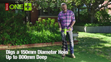 Ryobi 18V One+ Brushless Planting And Digging Tool | Bunnings Warehouse