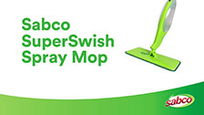 About Sabco SuperSwish Spray Mop