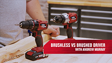 Ozito Brushed vs Brushless Drills