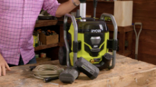 About Ryobi 36V Pressure Washer Console